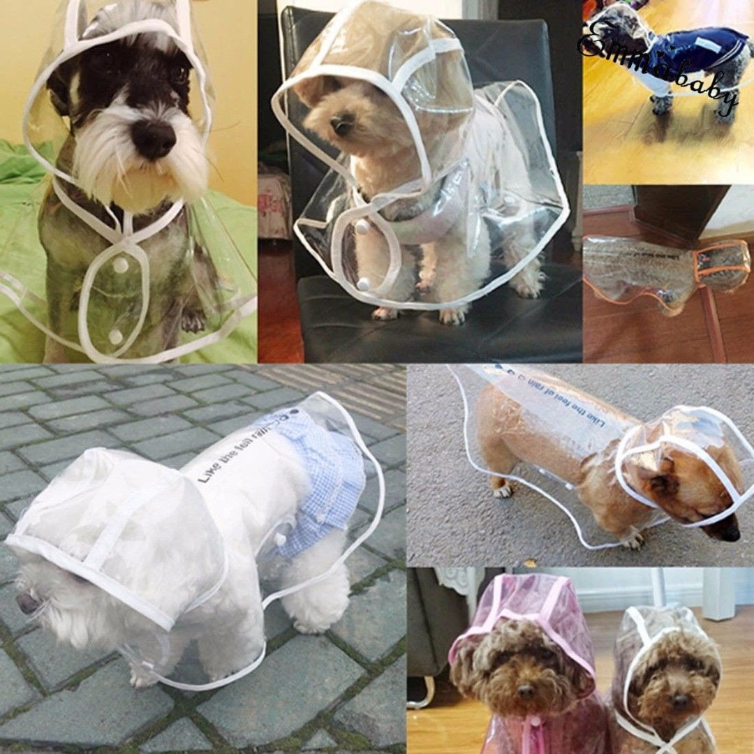 Adjuastable Transparent Raincoat