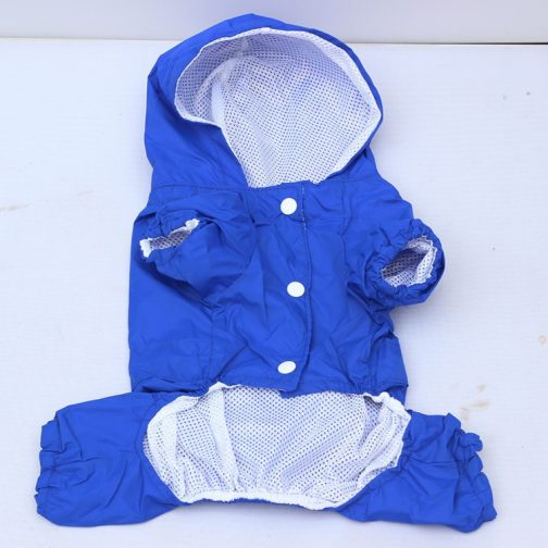 Casual Dog Raincoat