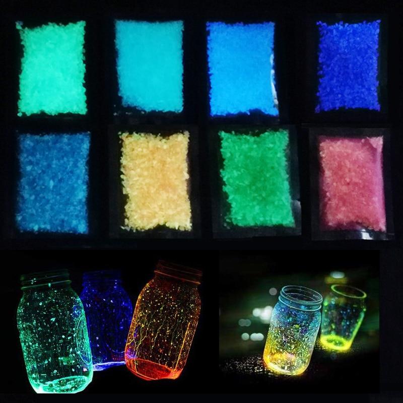 Luminous Aquarium Sand Glow
