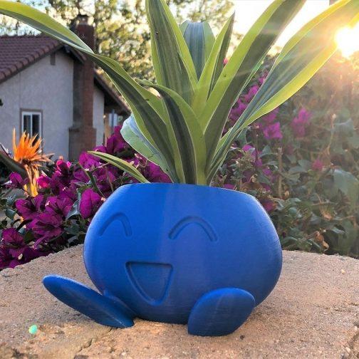 Oddish Flower Succulent Flower Pot