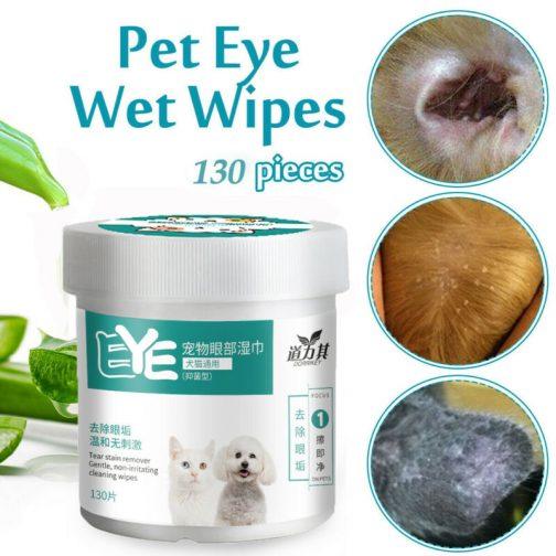 Pet Eye Wet Wipes
