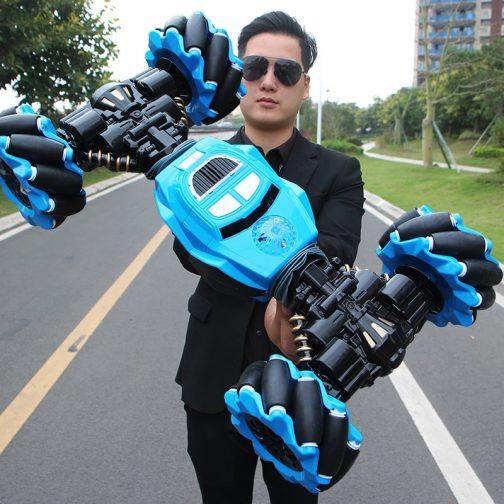 Gesture Control Stunt Car