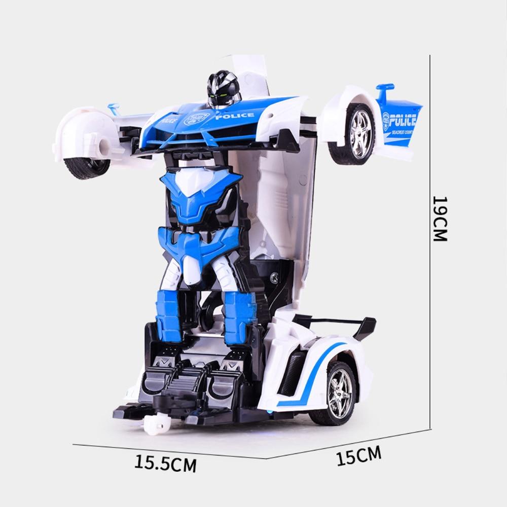 RC Car Transformation Robots
