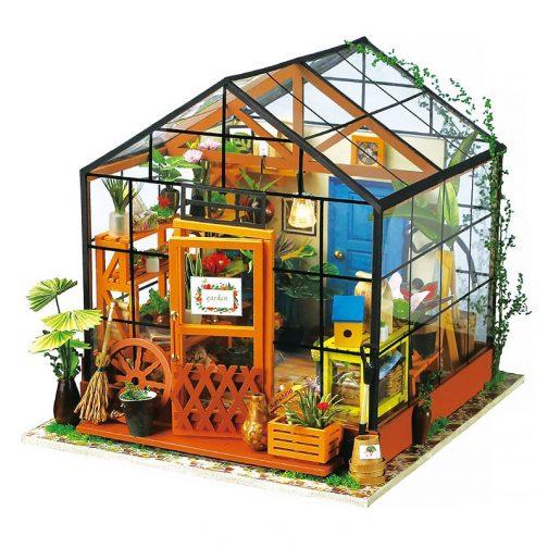 DIY Wooden Miniature Dollhouse
