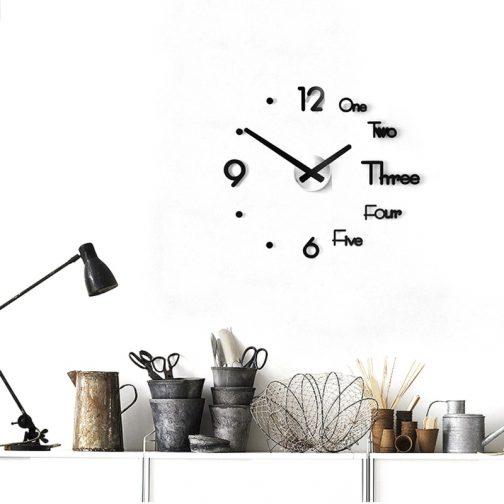 Wall 3D Modern Clock