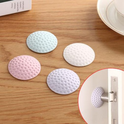 3 pcs Door Silicone Anti-collision Suction Cup