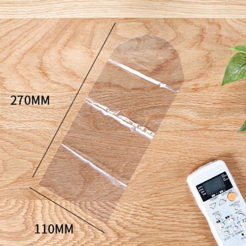5Pcs Heat Shrink Film Clear Remote Control Protector