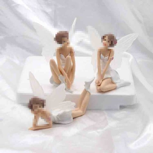 6 Pcs Fairy Garden Miniatures Ornaments