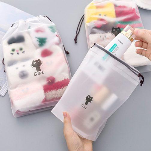Cat Travel Beauty Kit Case