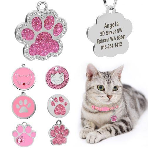 Custom Cat ID Tag