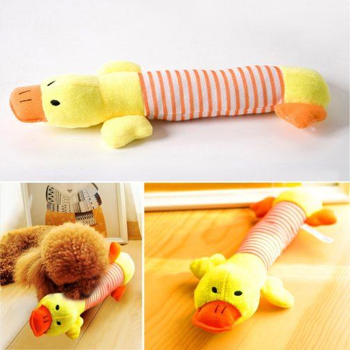 Cute Dog Plush Squeak Toy