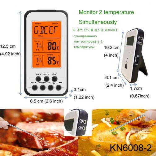 Wireless Digital BBQ Thermometer