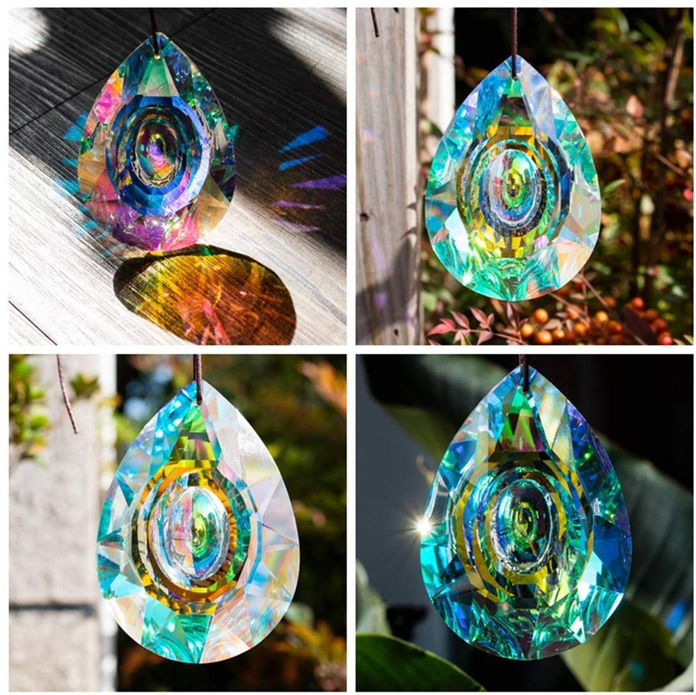 Hanging Crystals Prism Suncatcher