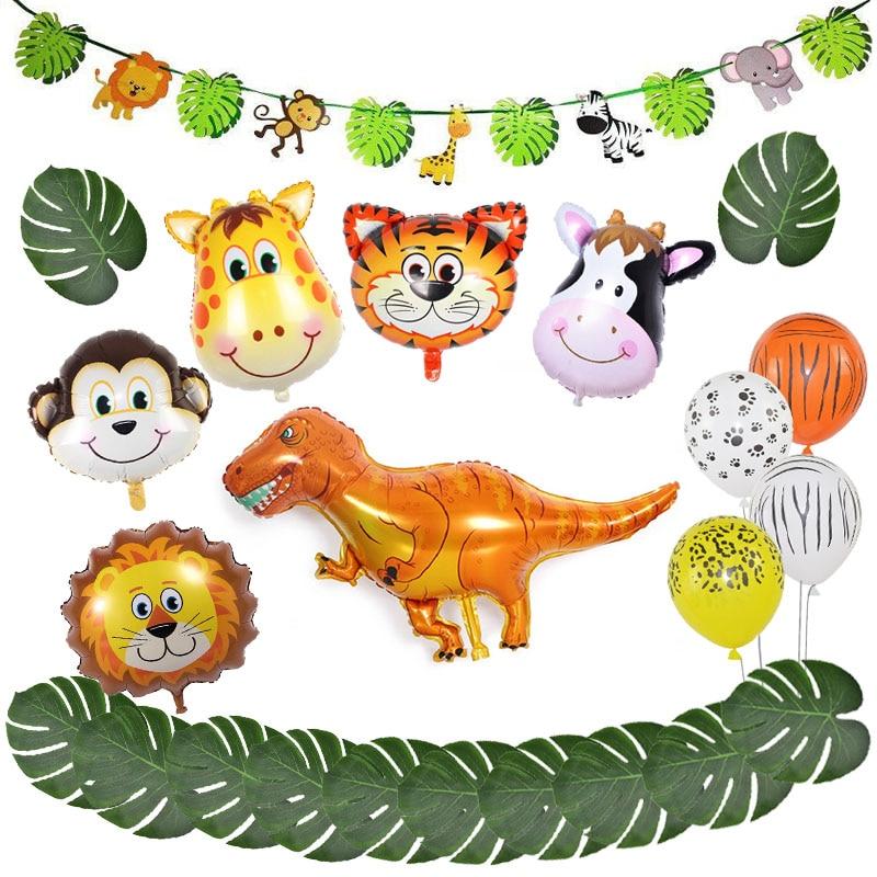 Animal Jungle Balloon Party Set