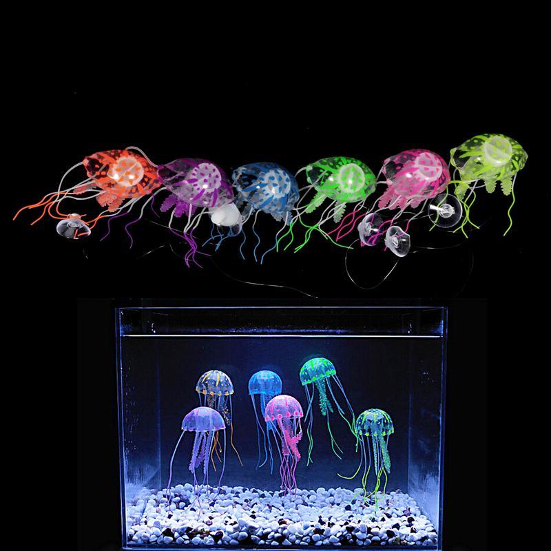 Glowing Aquarium Jellyfish