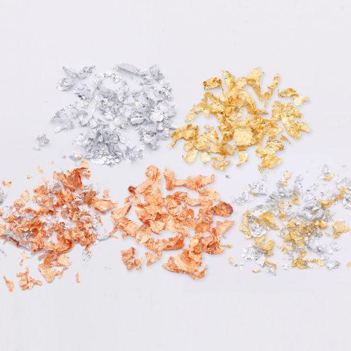 Imitation Gold Leaf Flakes