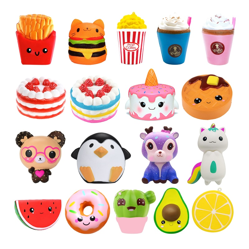 Kawaii Squishy Toys