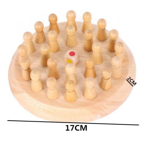 Wooden Memory Match Sticks
