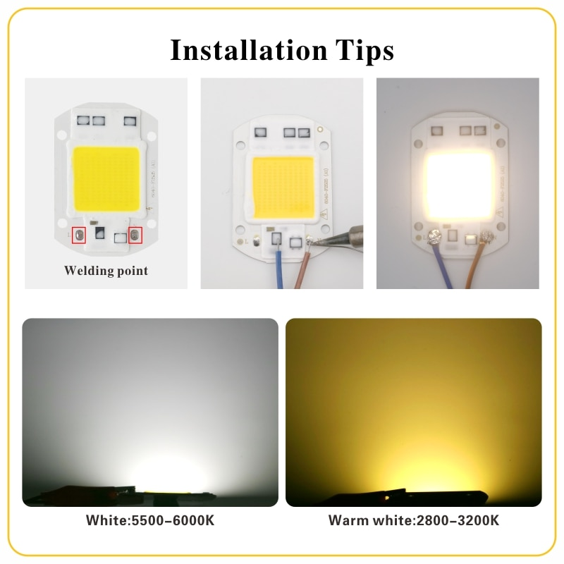 LED COB Lamp Chip