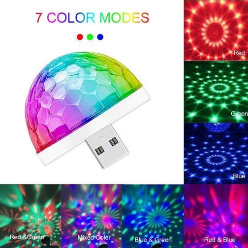 Mini USB Colorful Atmosphere Light