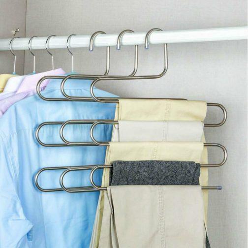 Multi-functional S-type Trouser Rack