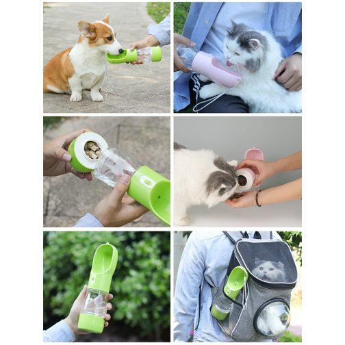 Pet Dog Water Bottle Feeder