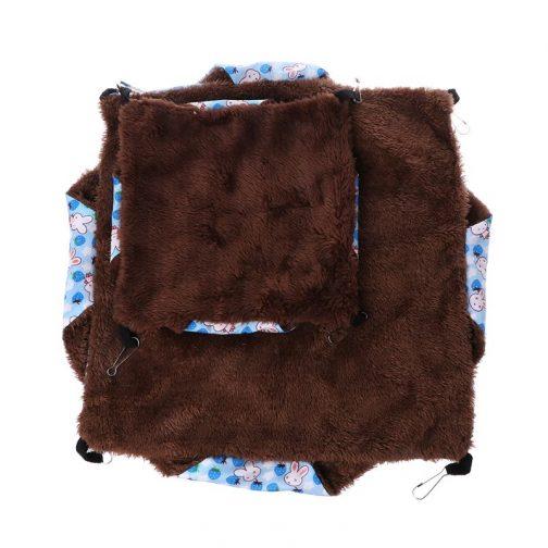 Double-layer Plush Soft Little Pet Hammock