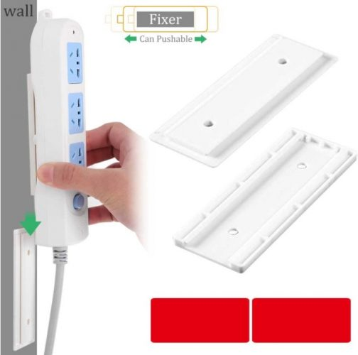 Seamless Punch Free Plug Sticker Holder