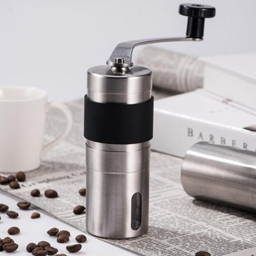 Silver Coffee Grinder