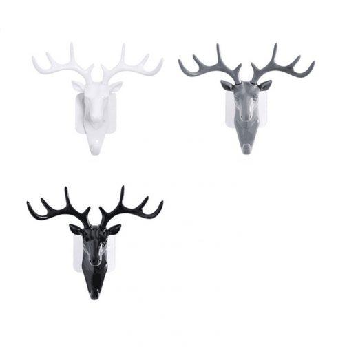 Wall Hanging Hook Vintage Deer Head