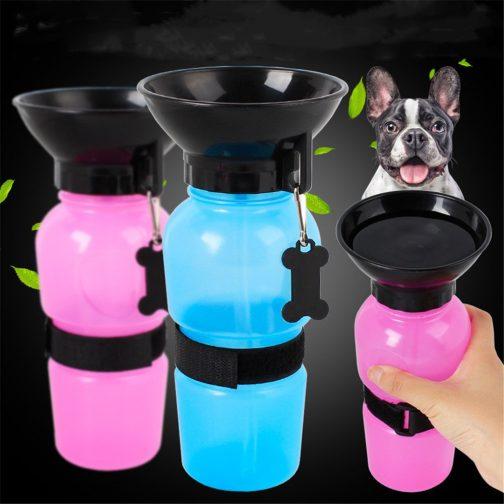 Pet Dog Drinking Water Bottle