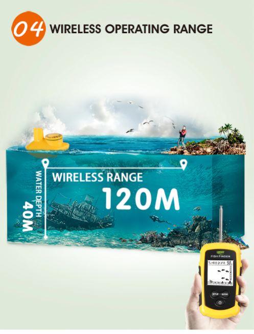Portable Wireless Fish Finder