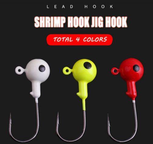 10pcs Jig Head Hard Hook