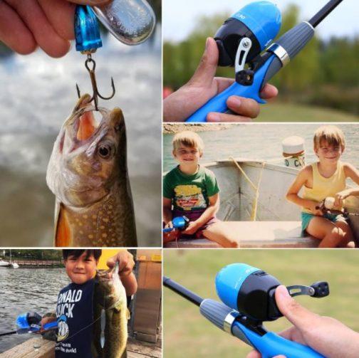 Kids Fishing Rod And Reel Set