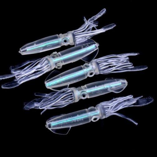 Luminous Soft Bait Squids