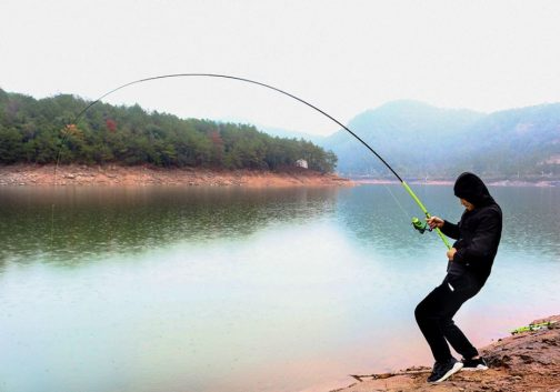 Carbon Fiber Rock Fishing Rod