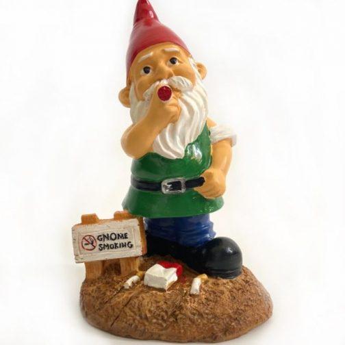 Gnome Smoking Garden Gnome
