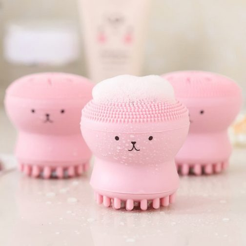 Octopus Silicone Face Cleansing Brush