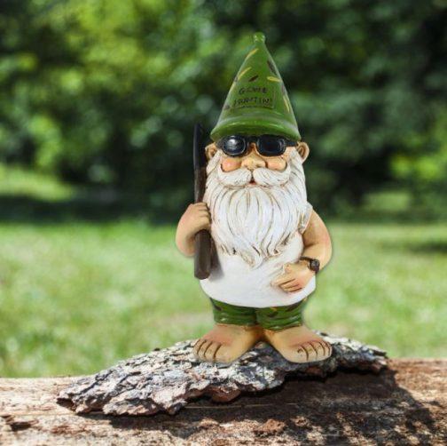 Hunting Garden Gnome