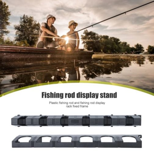 Vertical 6-rod Fish Rod Storage Holder