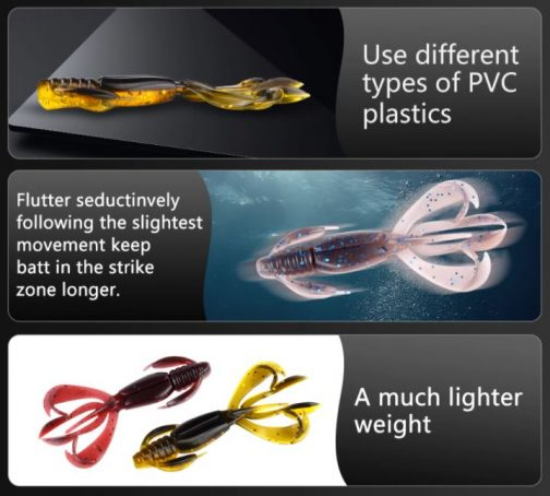 Crazy Flapper Fishing Lure