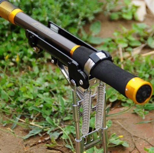 Adjustable Automatic Fishing Rod Holder