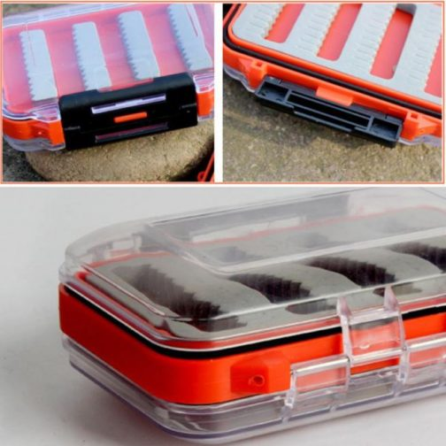 Fly Hooks Tackle Box