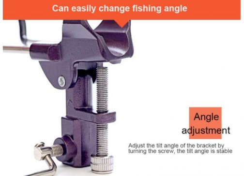 Fishing Rod Tackle Metal Holder
