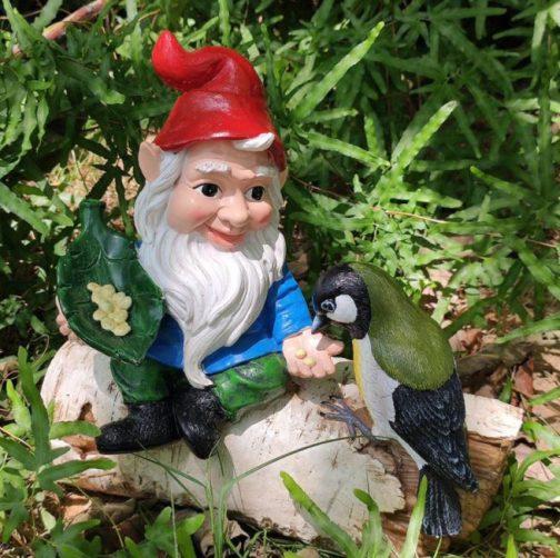 Bird Feeder Gnome