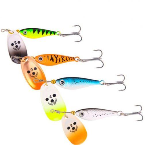 Rotating Metal Spinner Fishing Lure