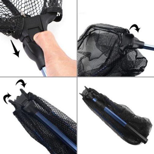 Foldable Fish Landing Net