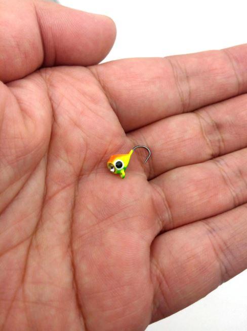 6 Pcs Mini Winter Ice Fishing Hook
