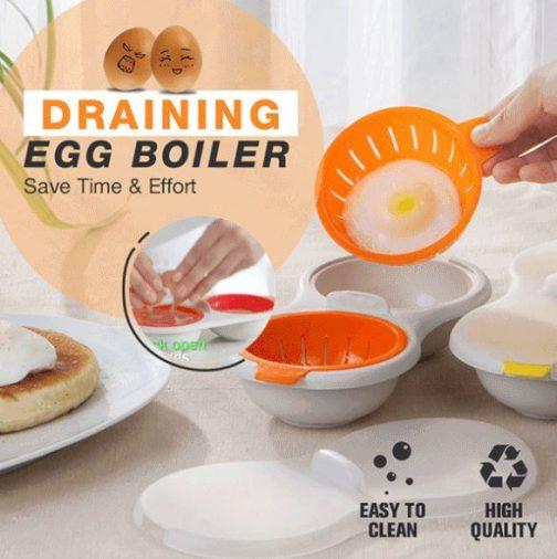 Draining Egg Boiler