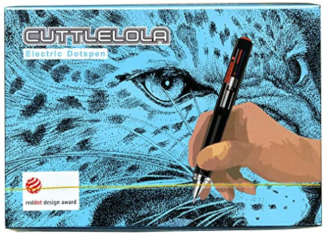 Cuttlelola Dotspen World's First Electric Drawing Pen for Illustration,stippling,manga